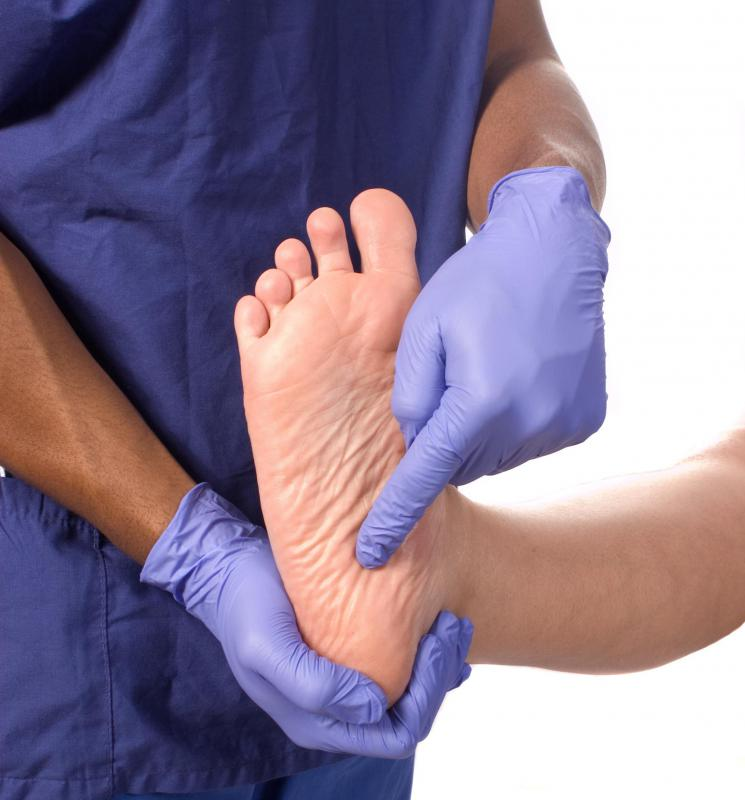 A podiatrist may be consulted to determine the cause of arch and heel pain.