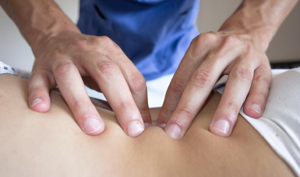 Shiatsu therapists work with the client to administer the correct amount of pressure during treatment.