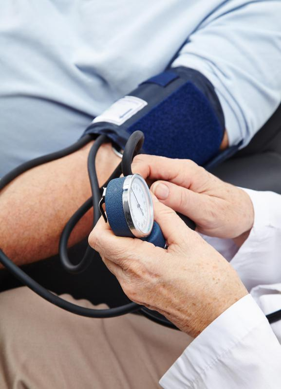 A rise in blood pressure is one of the effects of taking a vasopressor.