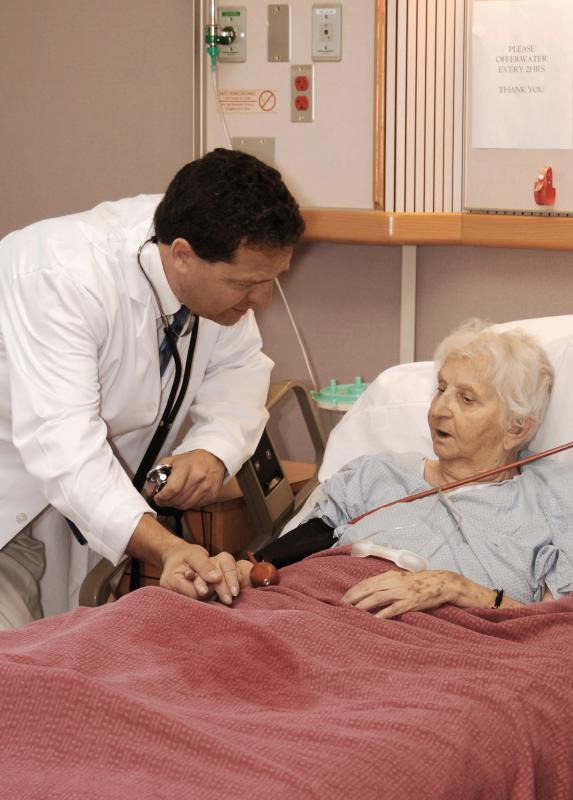 Hospice care focuses on reducing a patient's pain levels.