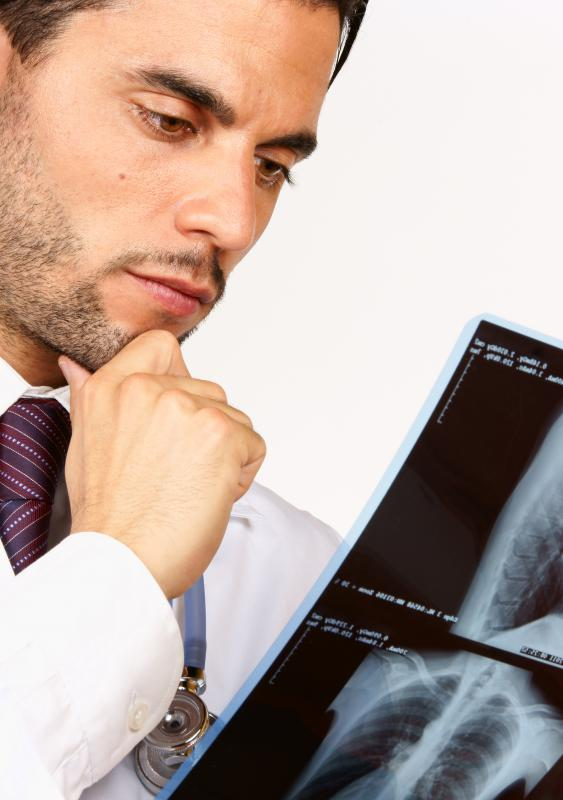 X-rays and other imaging scans are used to gauge functioning of the heart and lungs.