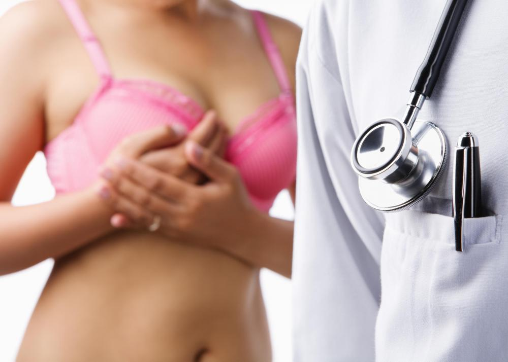 Abnormal growths in the breasts can cause breast calcium deposits.