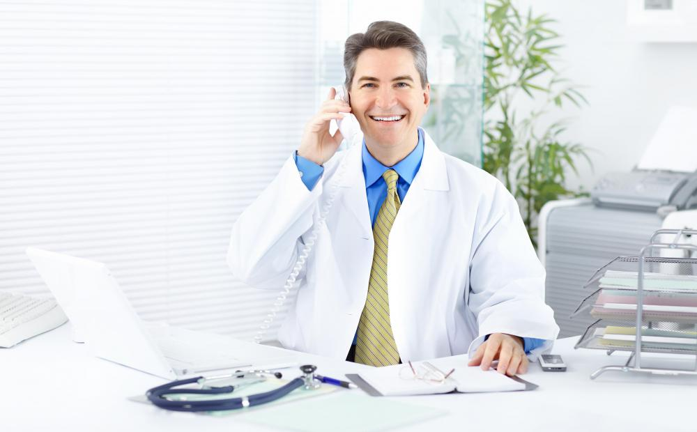 The clinic office manager may be tasked with keeping the doctor's schedule and managing his office hours.