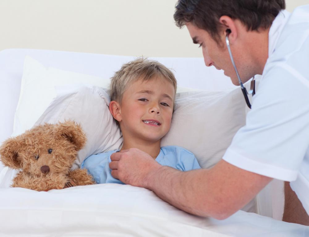 If a child has a chronic illness, symptoms could be exacerbated without medical attention.
