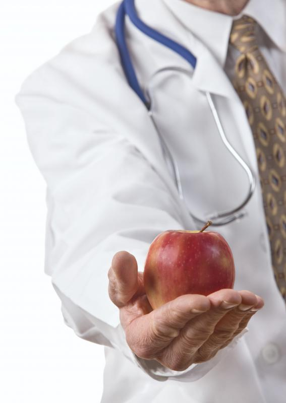 Doctors recommend fruits and vegetables for people with under-nutrition.