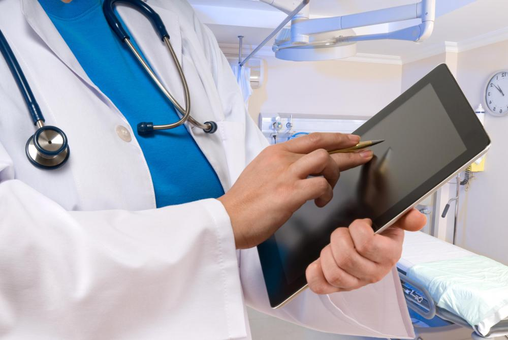 Health information technology refers to a system that keeps electronic records about patients.
