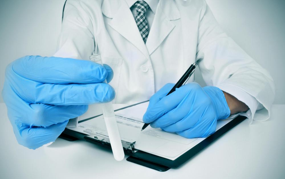 Medical examiner assistants sometimes write up results of testing and research.
