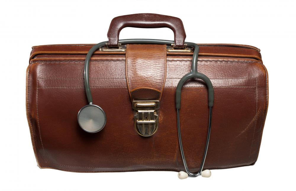 Gladstone bags are also known as doctor's bags.