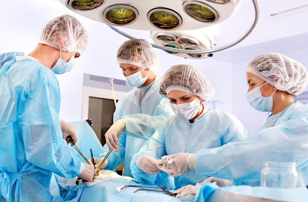 Anesthesiologist mainly work in operating rooms.