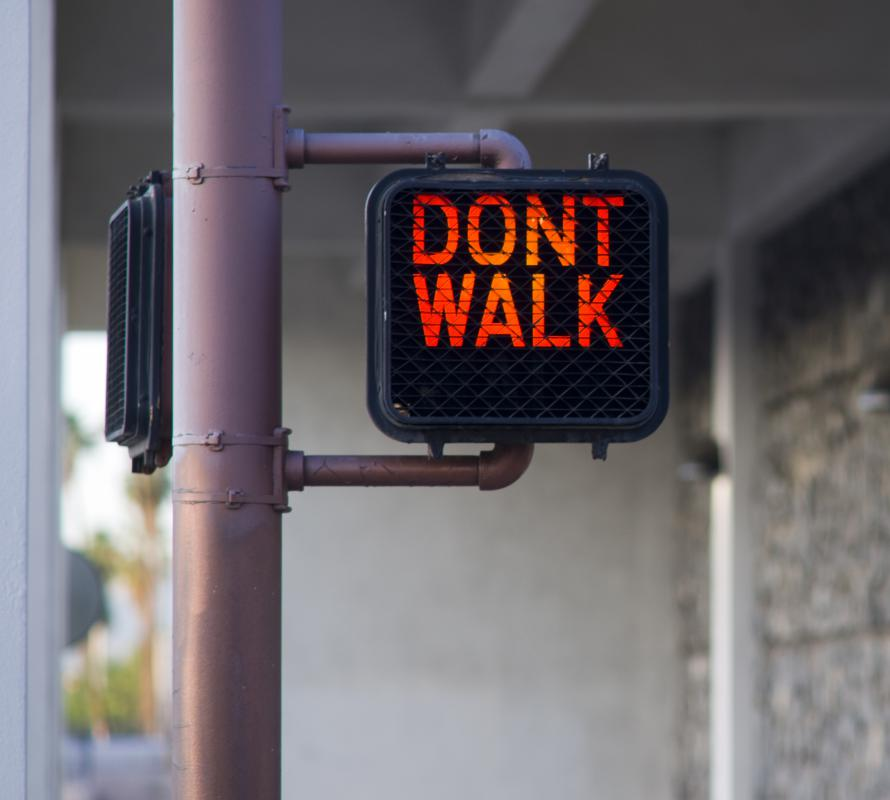 Jaywalking is considered a petty crime.