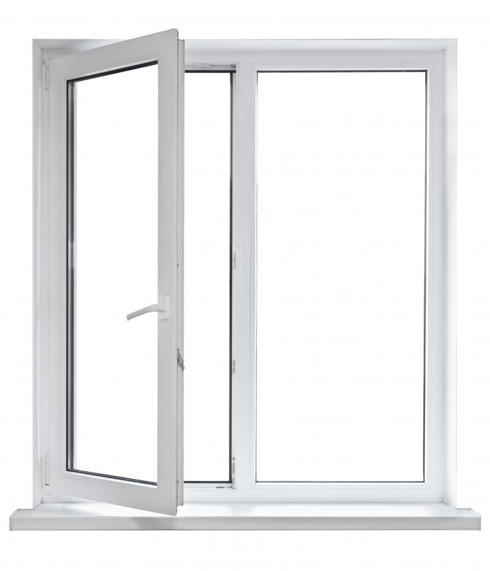 Replacing old windows with new insulated ones can improve a home's efficiency.