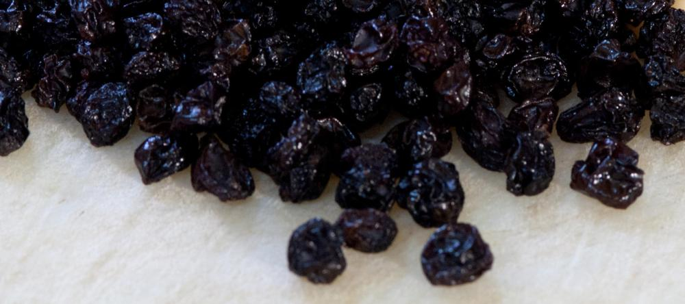 Some people like to add raisins to their rice cereal for additional flavor.
