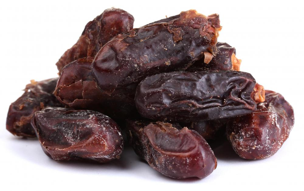 Date sugar is made by chopping up dried dates.