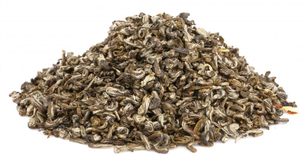 Yunnan Jasmine tea is infused with the scent of jasmine blossoms.