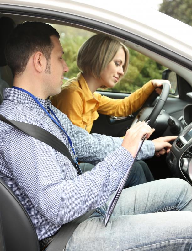 A driver training course might be helpful preparation for a driving test.
