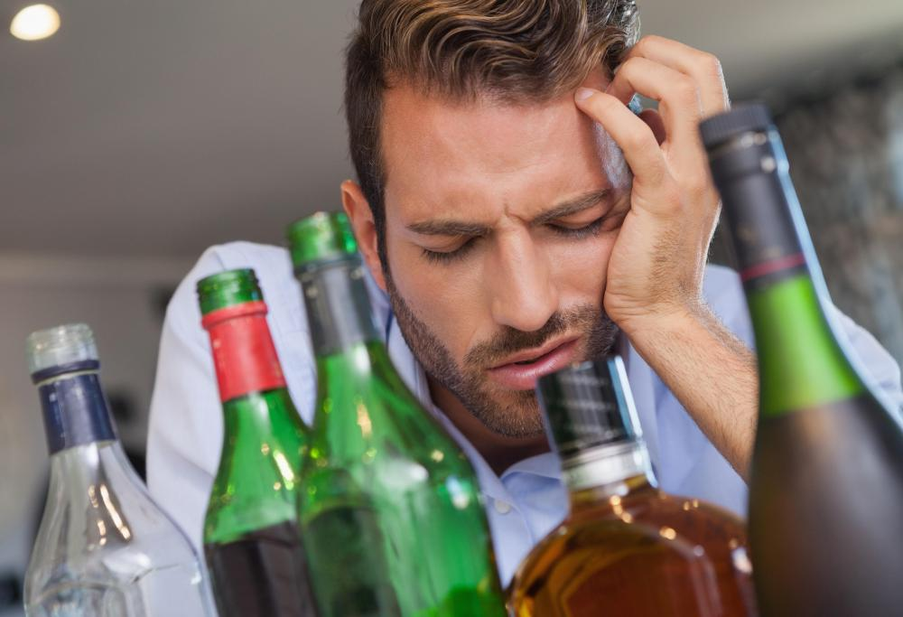 A hangover is a symptom of ethanol toxicity.