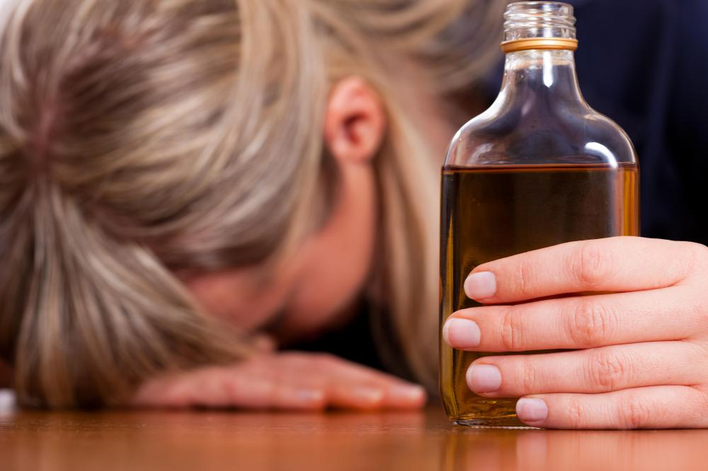 Alcohol can cause a loss of consciousness.