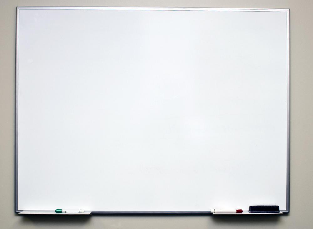 What is a Dry Erase Board? (with pictures)