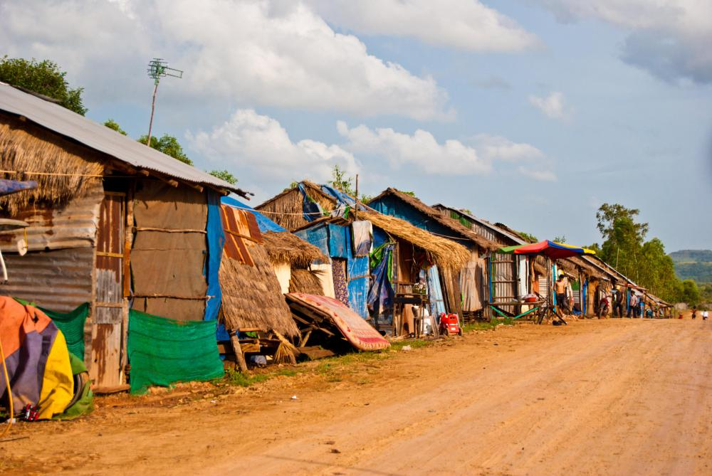 Poorism is a form of travelling some of the poorest areas of the world, including slums.