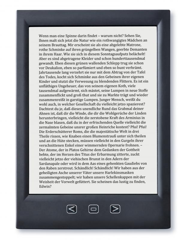 An eBook is a digital file that can be read on devices like eBook readers.