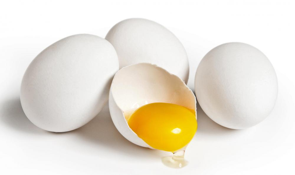 Biotin naturally occurs in foods such as egg yolks.