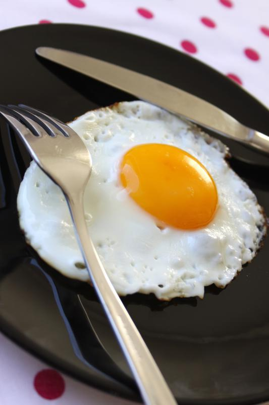 All of the egg's cholesterol is found in the yolk.