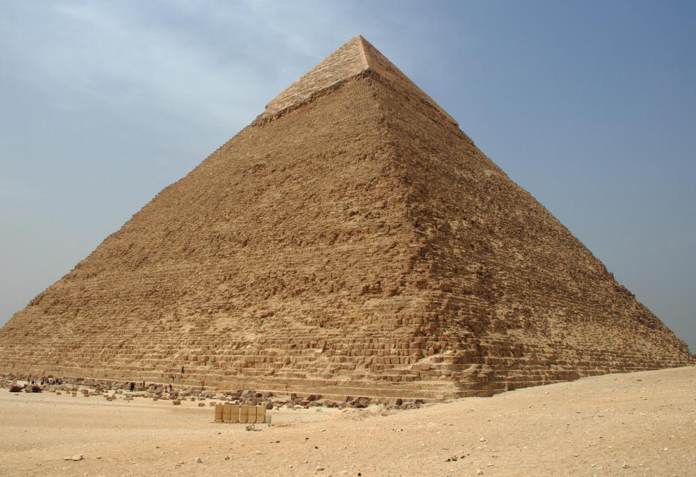 People traveling overseas may focus their trip around popular attractions such as the Pyramids of Giza in Egypt.