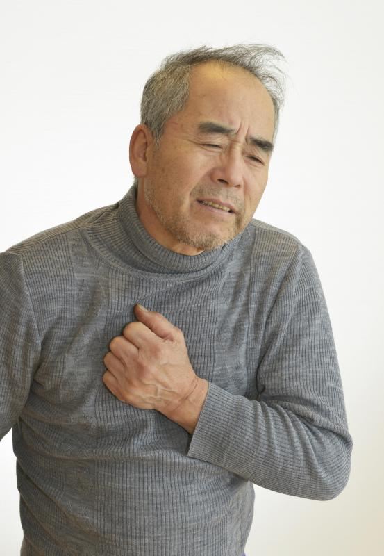 Coughing and difficult breathing are symptoms of bronchitis.