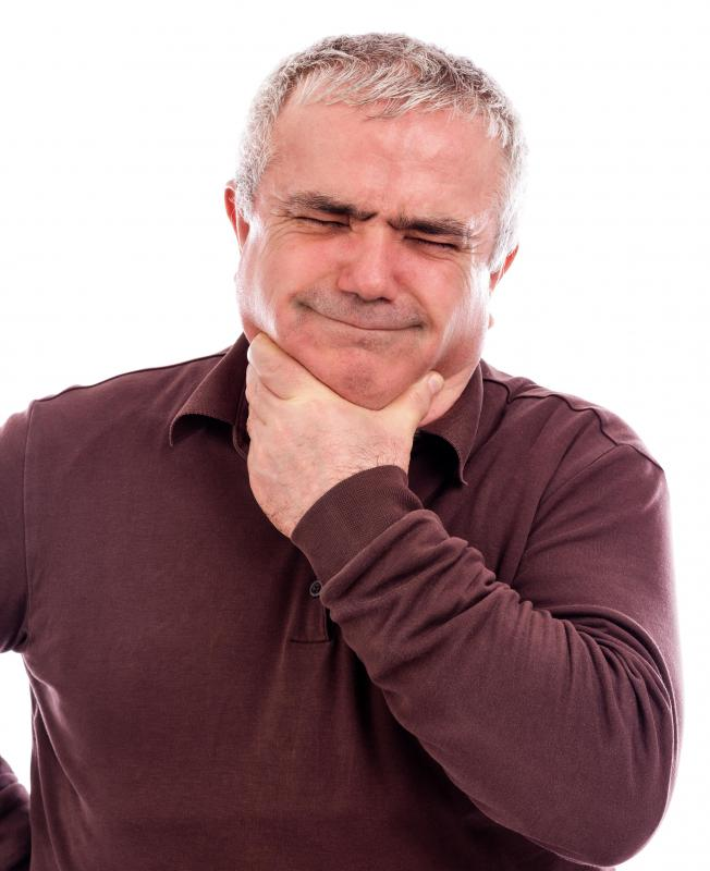 The cough from post nasal drip can lead to a sore throat if left untreated.