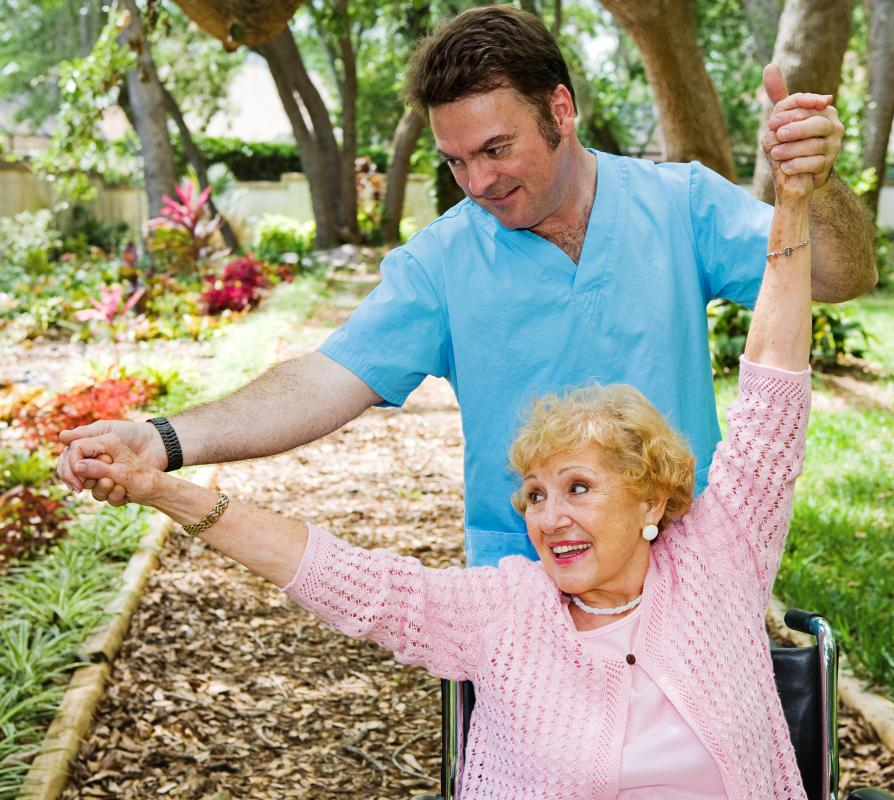 The elderly may suffer joint pain due to osteoarthritis.