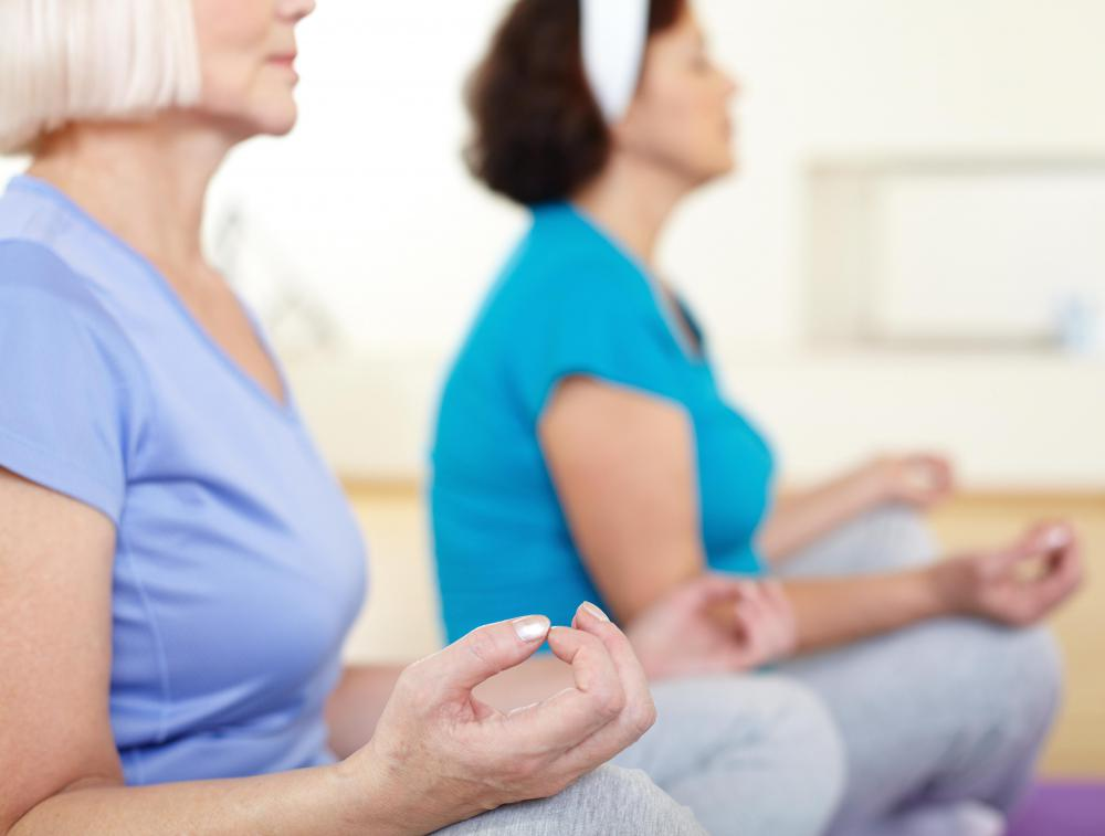 Gentle yoga can be considered a form of mind-body therapy.