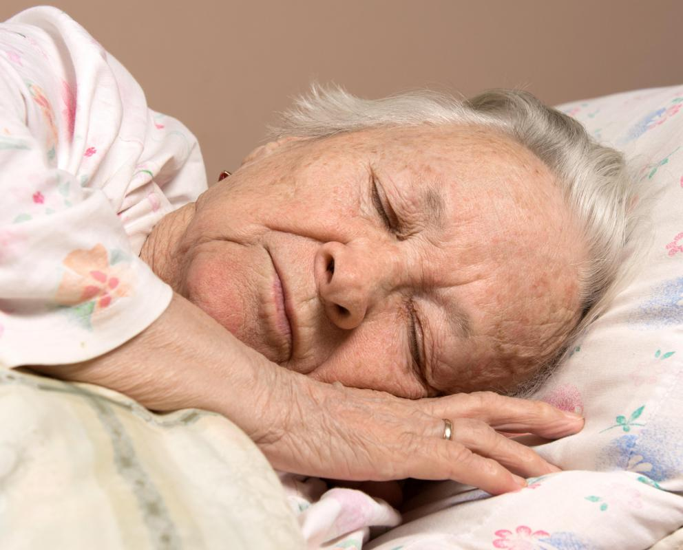 Th elderly may have difficulty overcoming complications from pancytopenia treatment.