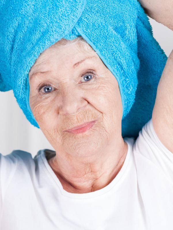 Elderly people should use conditioner that is formulated for sensitive skin.