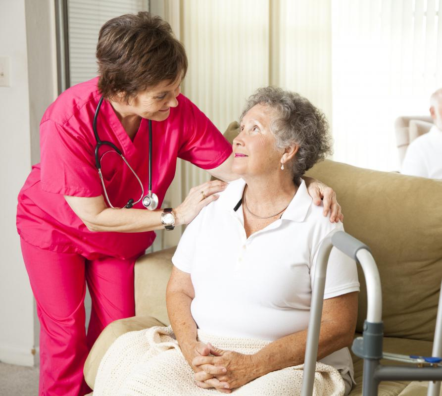 Home health nurses help patients to stay in their homes rather than move into residential care facilities.