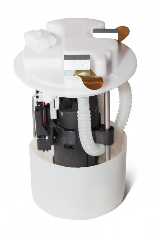 An electric fuel pump, which is used in later model autos.
