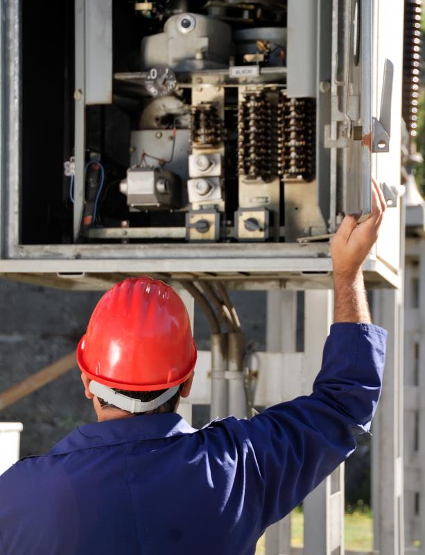 Electrical engineers may be called upon to supervise repairs in the field.