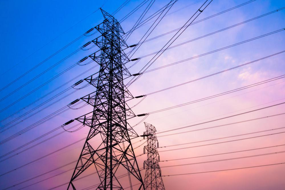 Fluctuations in power lines' current may cause small lapses in power.