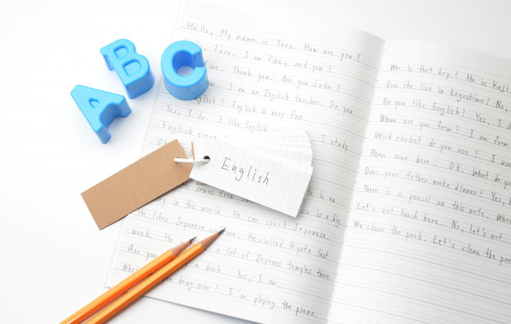 Basic writing skills require an understanding of the rules of English spelling and grammar.