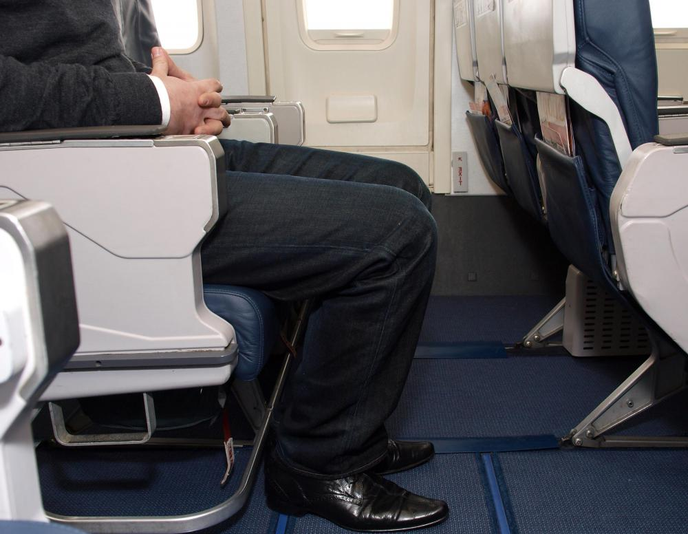 Sitting by the emergency exits are preferred by some because of the extra leg room.