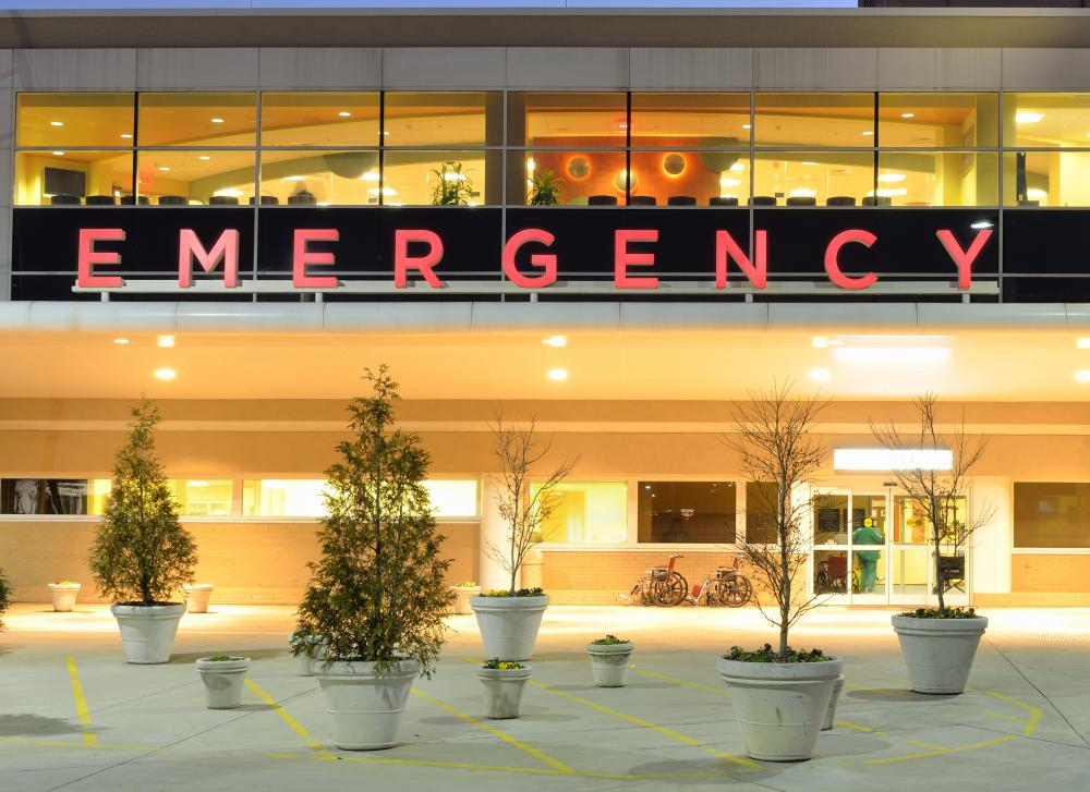 Emergency room visits are covered by Medicaid.