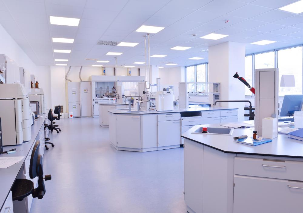 Schools that offer forensic science courses should be equipped with plenty of lab space for students.