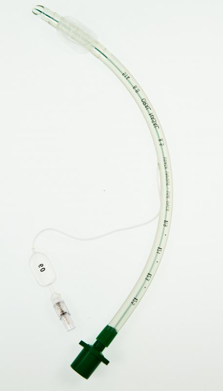 An endotracheal tube is used in endotracheal intubation, a type of airway management.