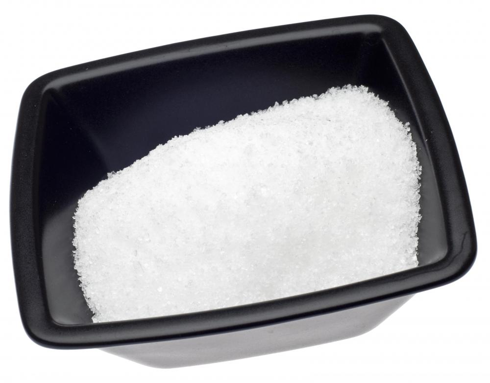 Epsom salts added to warm water can be used to help treat an ingrown toenail.