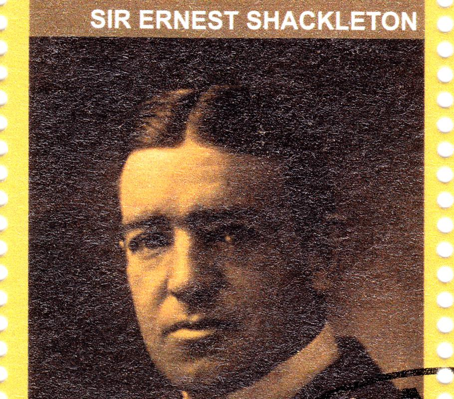Ernest Shackleton volunteered for the Discovery expedition in 1902.