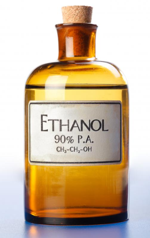 What are the Medical Uses of Ethyl Alcohol? (with pictures)
