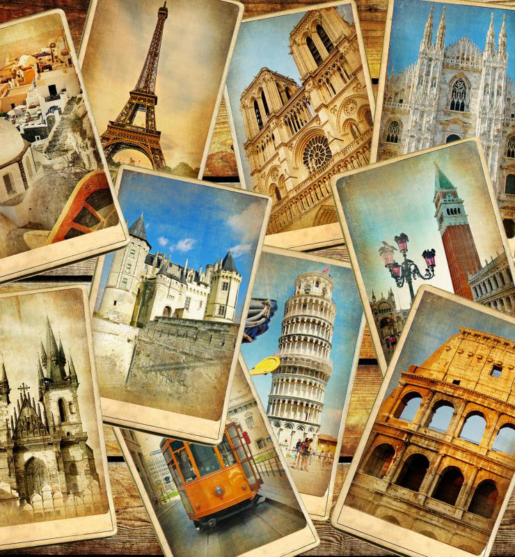 Europe has many famous attractions that are worth visiting.