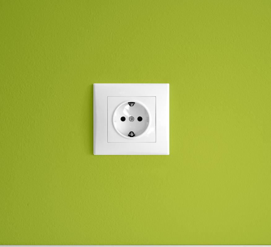 The Europlug has two openings spaced horizontally about one inch apart and is used throughout most of Europe.