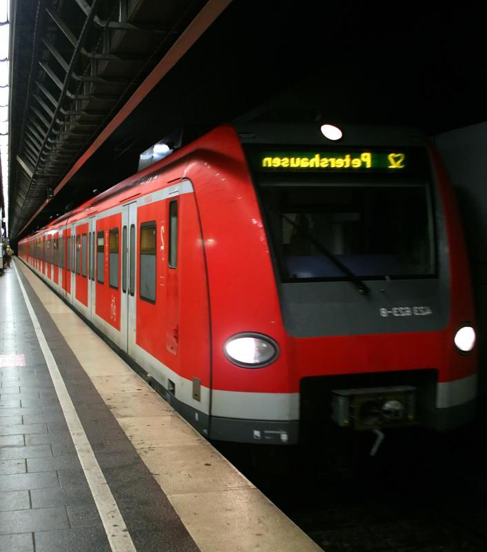 Passenger train service is popular in Europe.