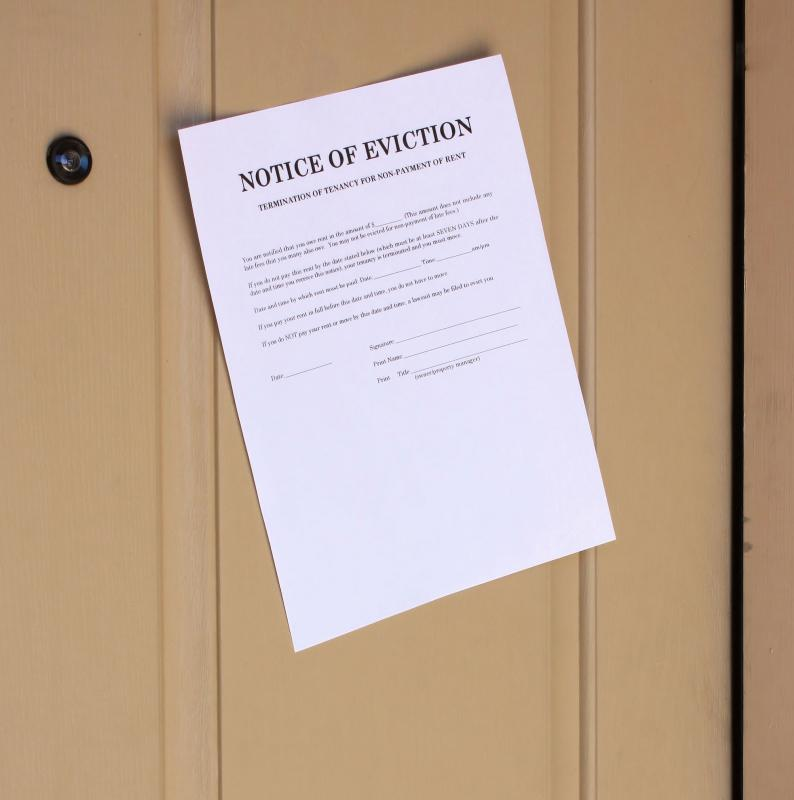 what is a section 8 eviction with pictures