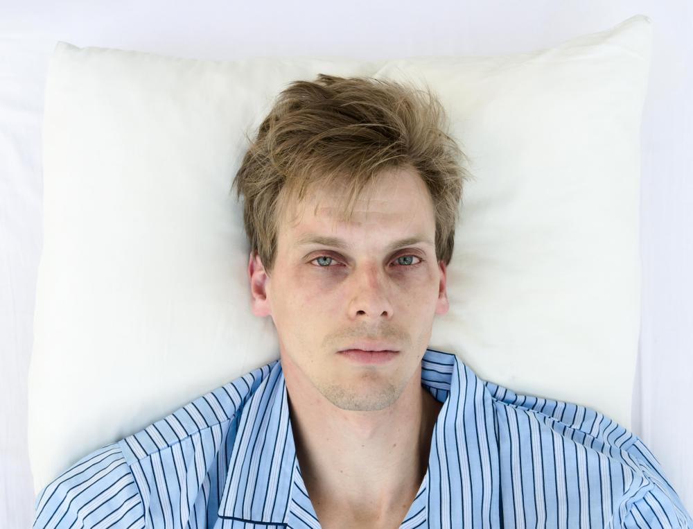 Adults with tonsillitis may experience insomnia.